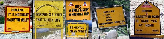 Hindistan BRO - Komik ve Eğlenceli Yol Tabelaları,